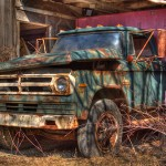 Rusted [Dodge] Motormobile in HDR
