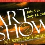 Last week of the Susquehanna Art Society's annual juried exhibit!