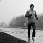 Lone Jogger – Hurricane Sandy, 2012