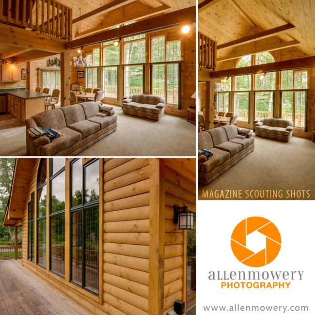 Log Home Photographer - Lewisburg PA