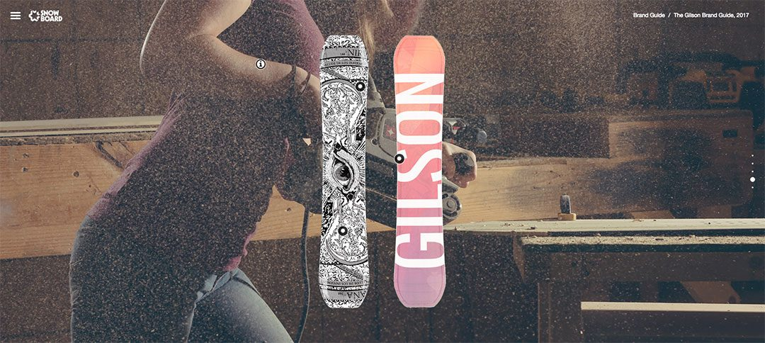 Photographing Gilson for Snowboard Magazine's 2017 Brand Guide
