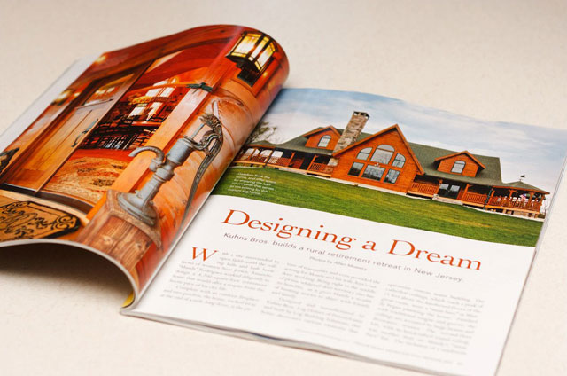 """Designing a Dream"" – Nationally-Published Magazine Feature"