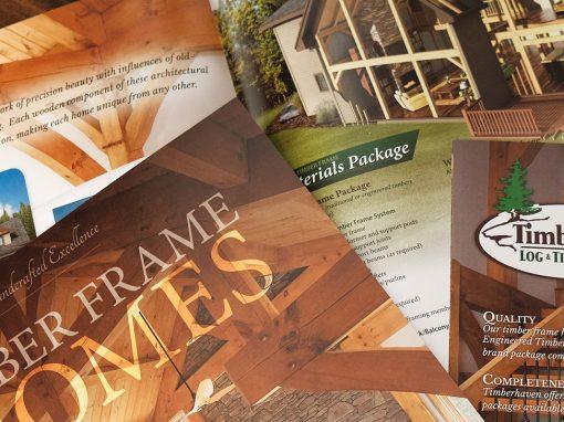 Timber Frame: Strategic Marketing Piece Development
